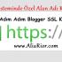 Blogger Özel Alan için SSL Kurulumu